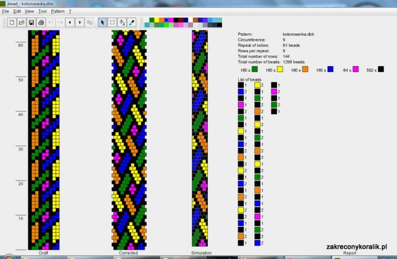 Wzór bransoletka wężowa