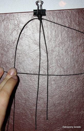 Bransoletka MAKRAMA instrukcja krok po kroku jak zrobić